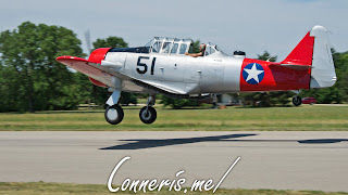 NX37642 North American Harvard IIA Flyby 1