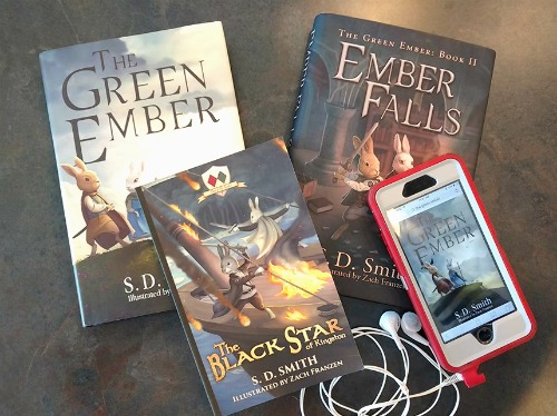 Instagram giveaway of the entire Green Ember series