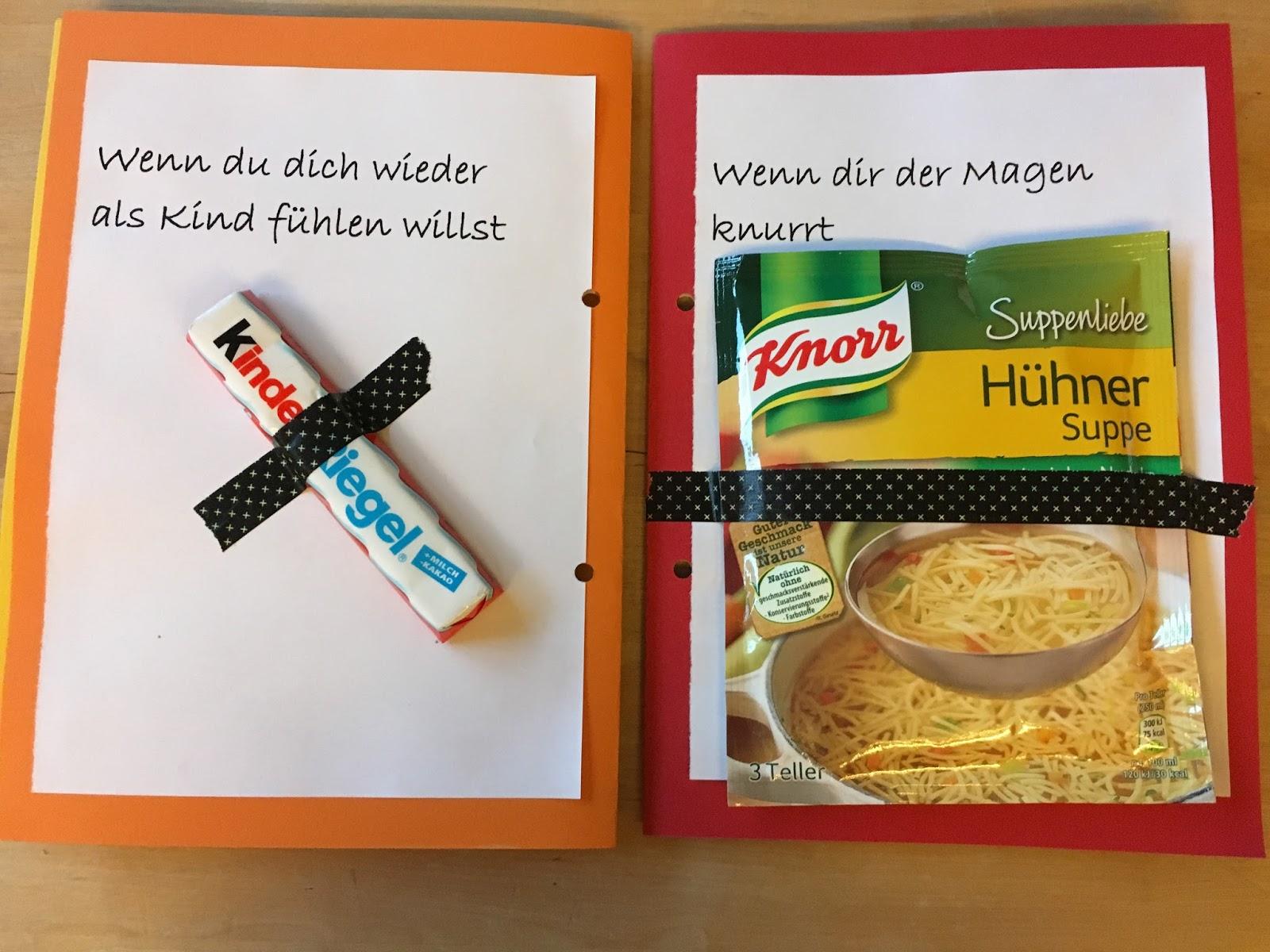 Birgit schreibt geschenkidee wenn buch - Geschenke zum 18 geburtstag selber machen ...