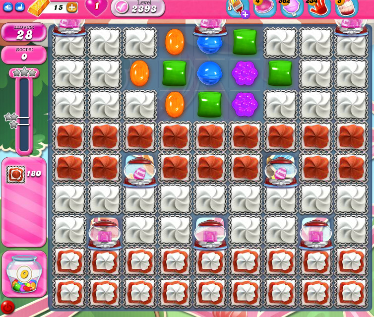 Candy Crush Saga level 2363