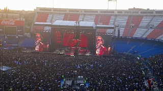 Axl Rose, Guns N' Roses, Vicente Calderón, Atlético de Madrid,