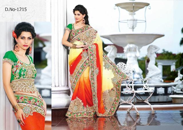 Designer dress patterns adorned with velvet patch