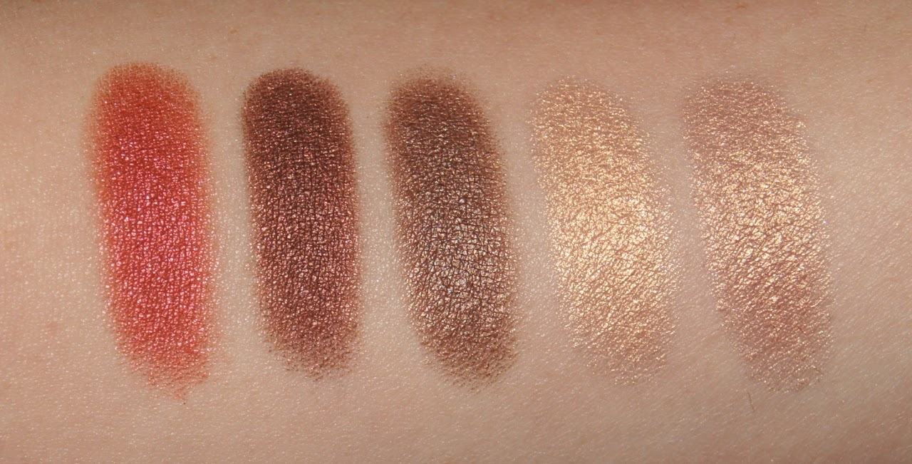 ingot freedom system custom eyeshadow palette swatches 607 421 422 07 11