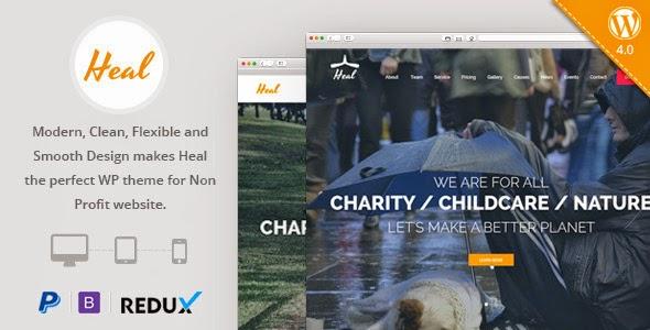 Responsive Charity WordPress Theme