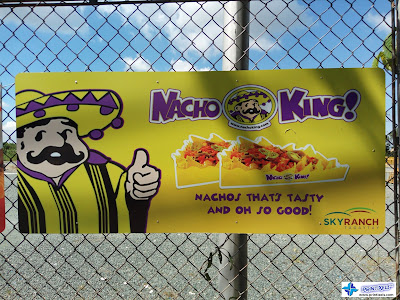 Galvanized Sheet Metal Signage - Nacho King