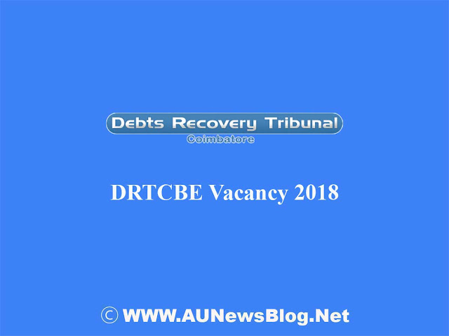 Debts Recovery Tribunal Recruitment 2018
