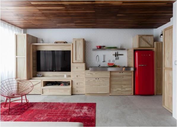Un micro appartamento di 25mq | Blog di arredamento e interni ...
