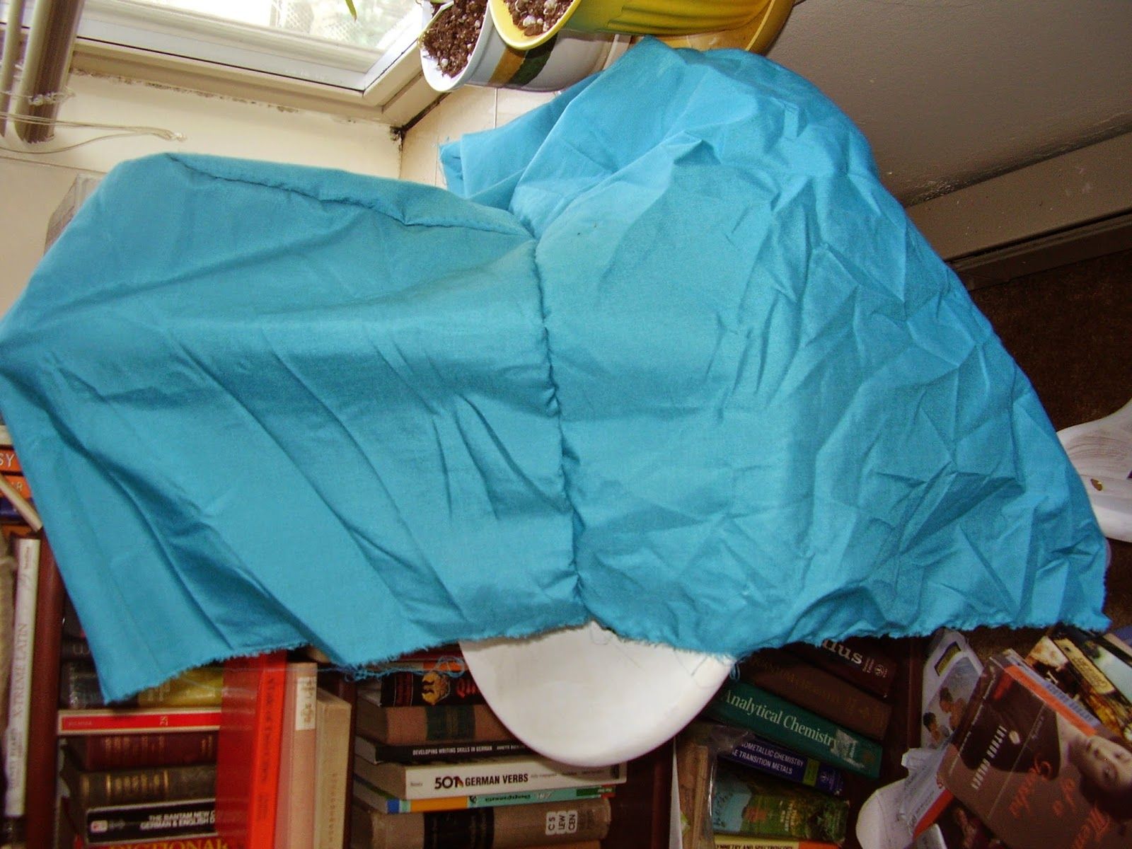 Mock-up of sunbonnet.