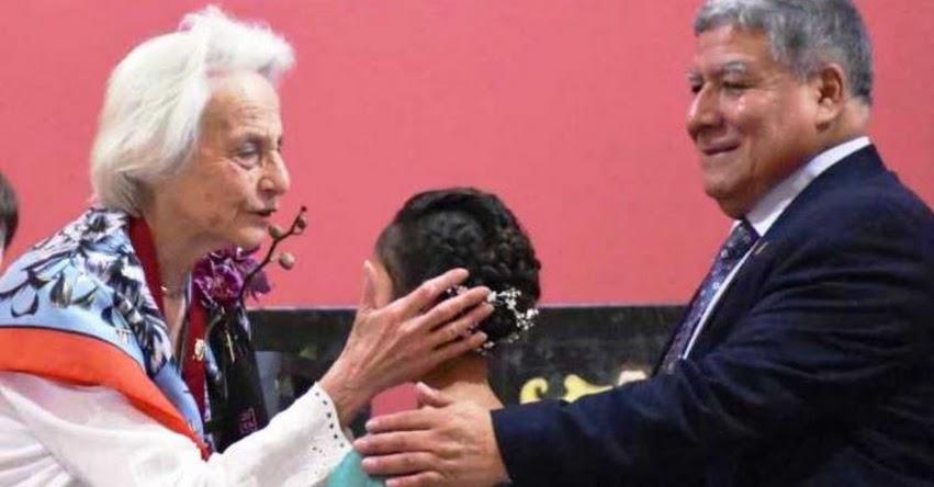 UNMSM: Universidad San Marcos reconoce trayectoria artística de la maestra Vera Stastny - www.unmsm.edu.pe
