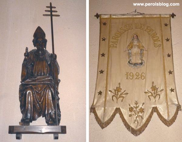 Statue église de Pérols