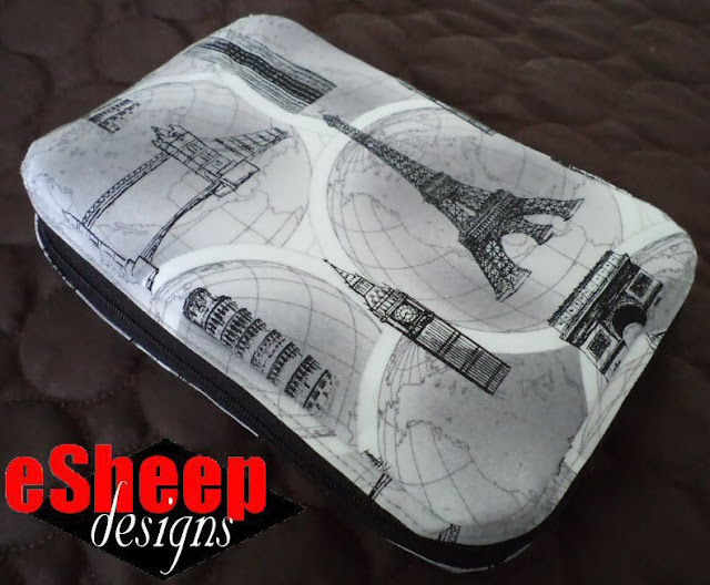 Customized Yahtzee Wallet crafted by eSheep Designs