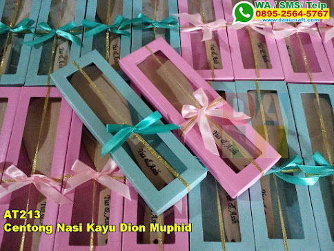 Jual Centong Nasi Kayu Dion Muphid