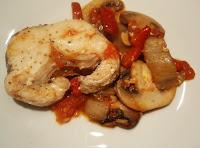 pescado cocinado en wok