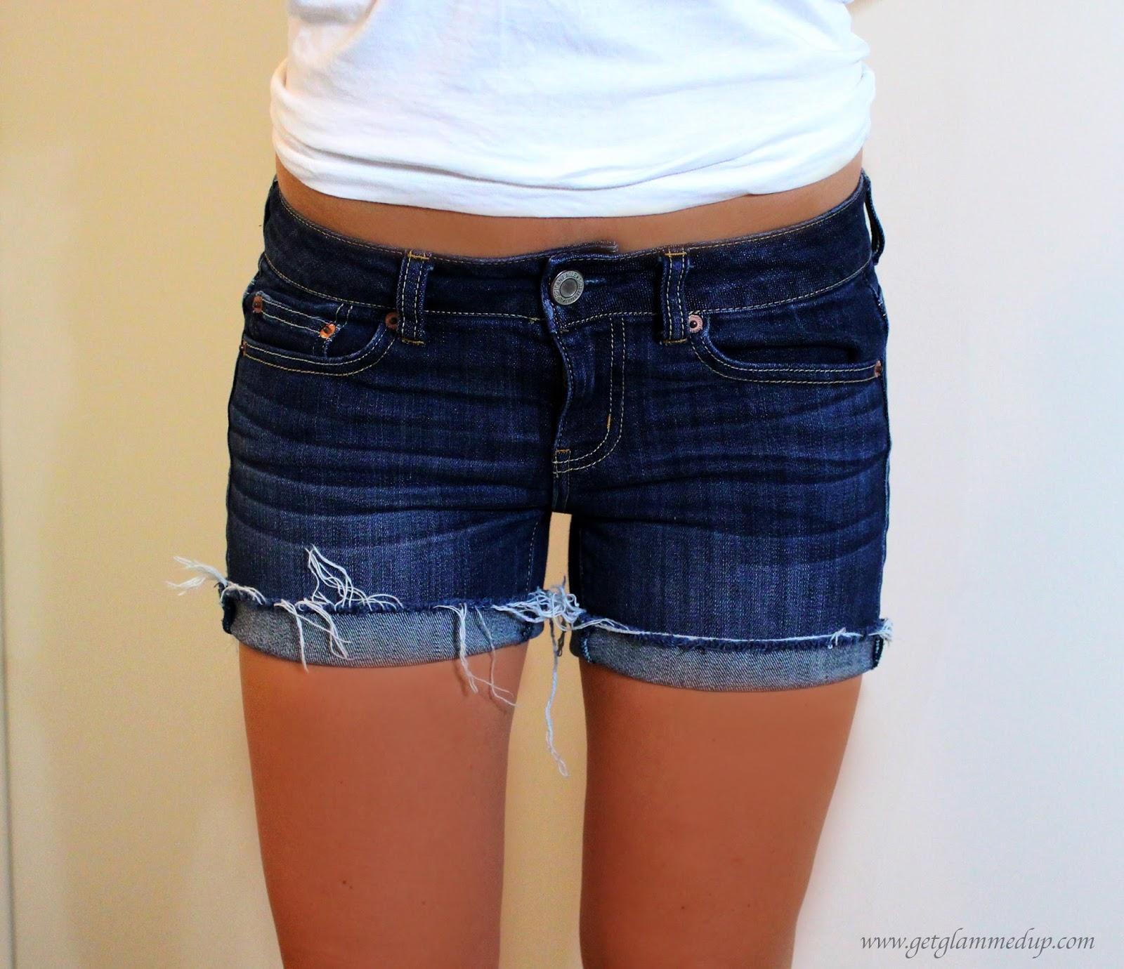 best denim shorts for bigger thighs & butt: getglammedup