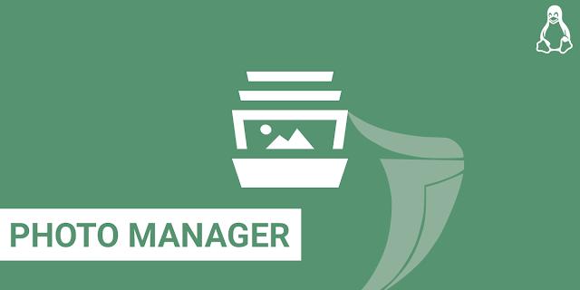 Photo Manager untuk mengatur jenis foto di Linux