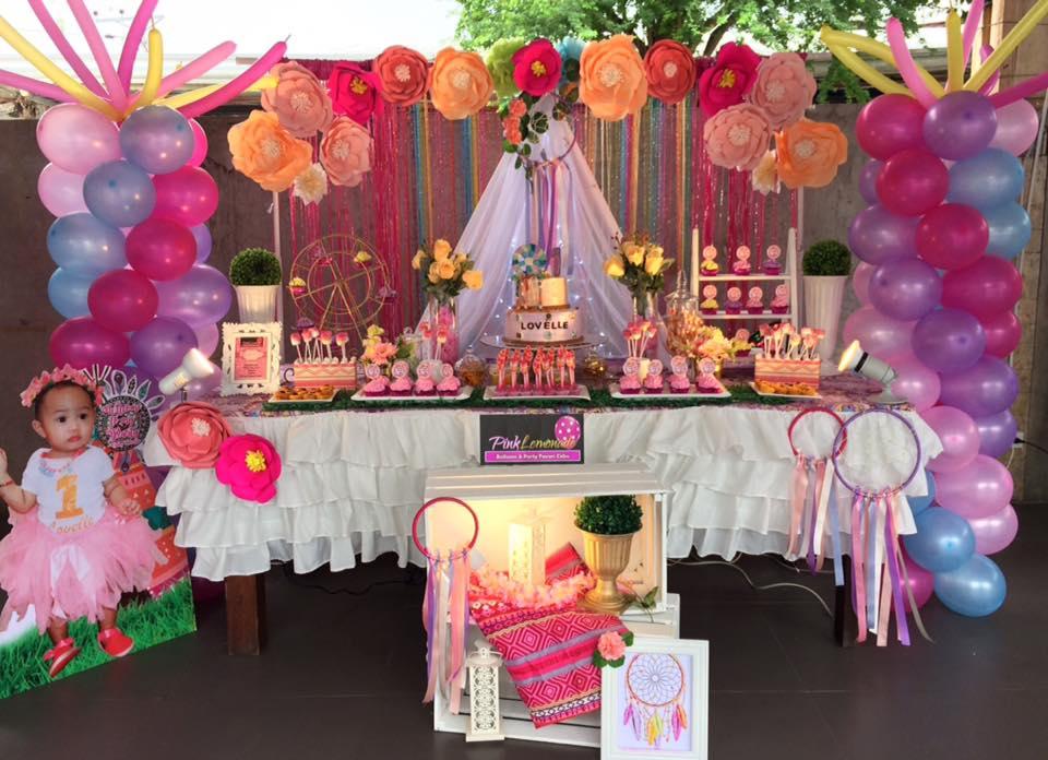 Pink Lemonade Balloons And Party Favors Cebu Coachella