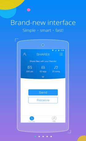 Aplikasi Transfer File Tercepat SHAREit APK