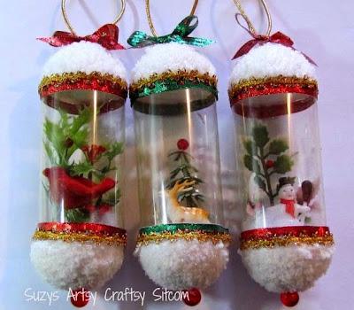 поделки для дачи,новогодние поделки,поделки из пластиковых бутылок
