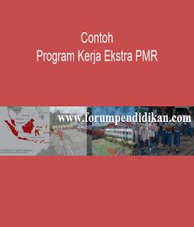 Contoh Program Kerja Ektra PMR | Contoh Program Kerja