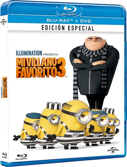 Mi Villano Favorito 3 (2017) 1080p BluRay REMUX 20GB mkv Dual Audio DTS-X 7.1 ch