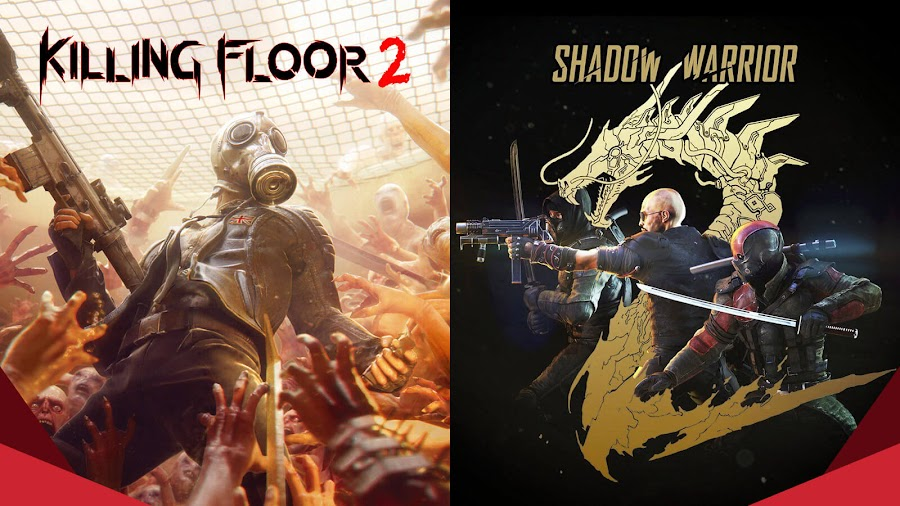killing floor 2 game ps4 humble indie playstation bundle 2019 shadow warrior 2