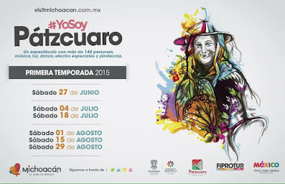 Scheduled Yo Soy Pátzcuaro Events for this summer 2015
