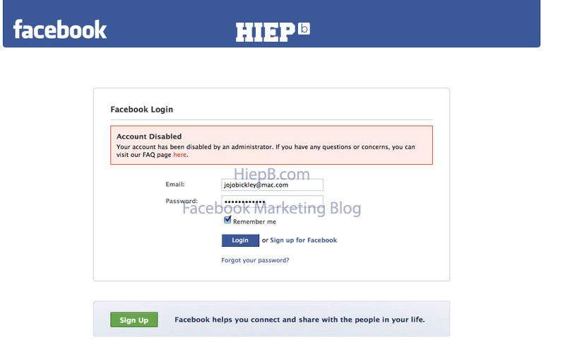Cách Unblock trương mục Facebook Bị Chặn (Bị Khóa – Vô Hiệu Hóa