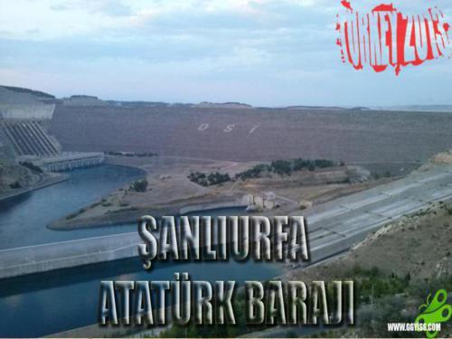 2013/08/18 Turkey2013 35. Gün (Şanlıurfa-Atatürk Barajı)