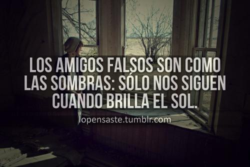 Frases De Ironia Para Amigos Falsos: Be Happy: Diciembre 2012