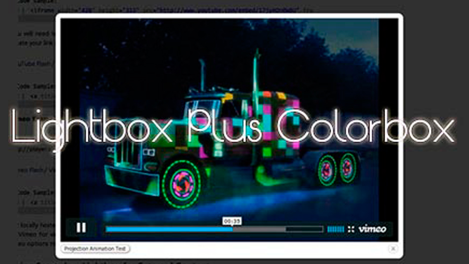 Lightbox Plus Colorbox