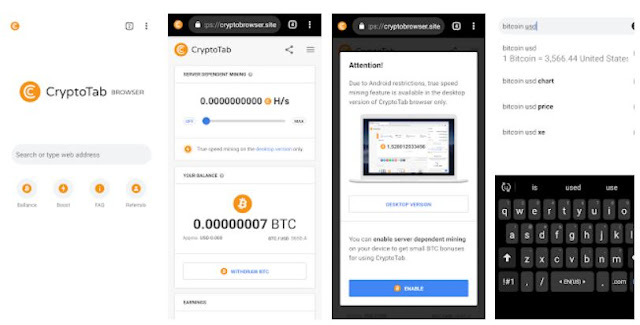 Download CryptoTab Browser Mobile App