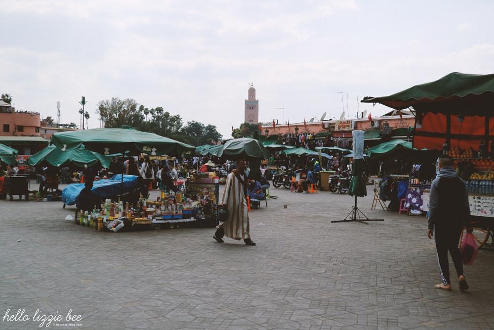 jemaa el-fna, marrakech, marrakesh medina