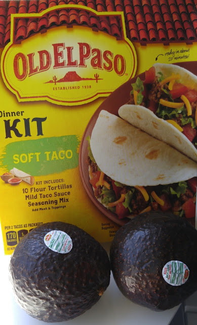 Old El Paso soft taco dinner kit