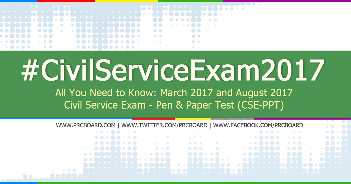 August 2017 Civil Service Exam CSE Application Schedule – Civil Service Exam Application Form