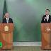 Michel Temer e Jair Messias Bolsonaro, em pronunciamento, iniciam formalmente governo de transição