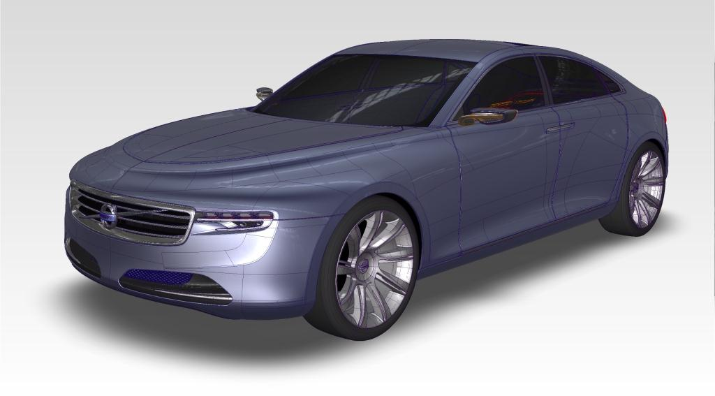 Autodesk Alias Support The Vision Volvo Car Corporation For The