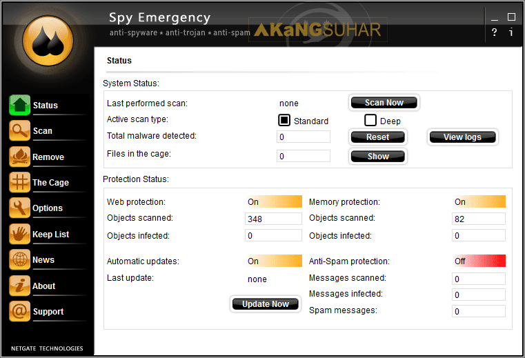 Download NETGATE Spy Emergency Full Crack