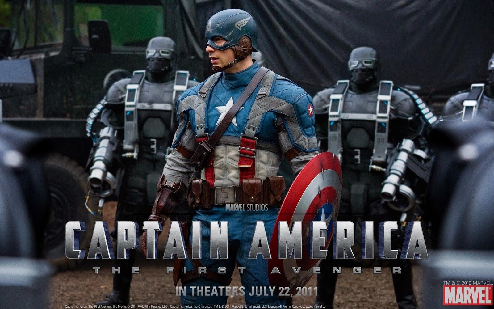 Wallpapers Hd Autos Fondos De Pantallas Hd: Wallpapers Captain America (The First Avenger) HD
