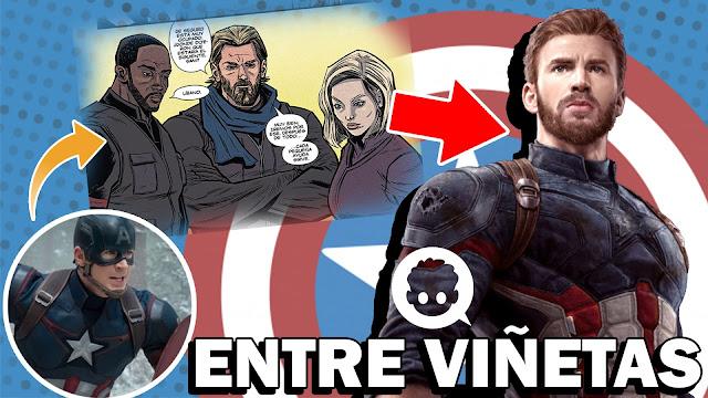 Lo que Pasó con el Capitán América antes de Infinity War