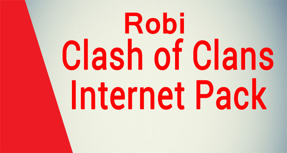 Robi Clash of Clans Internet Pack