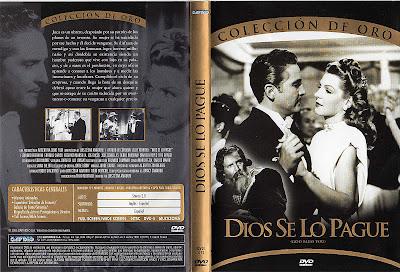 Carátula dvd: Dios se lo pague (1948)