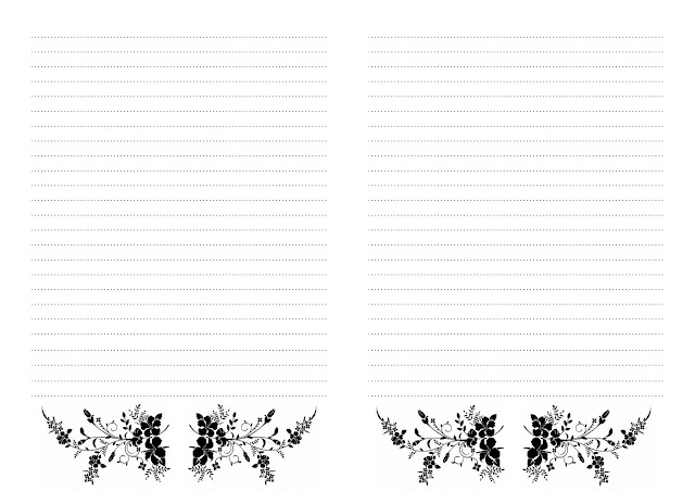 Шкатулка Аси Мищенко Странички Wkłady do notesów Pinterest - free lined paper to print