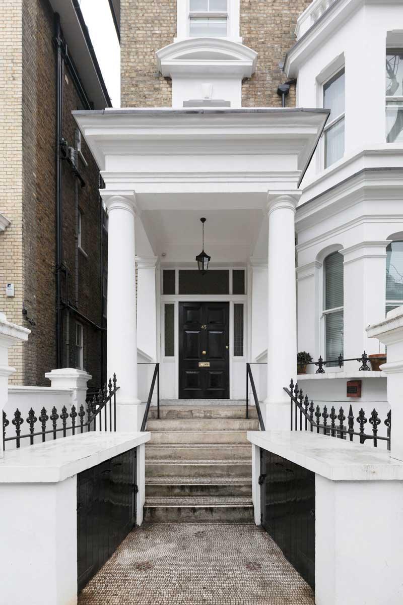 studio di Laurameroni a Londra, nell'area di Earl's Court