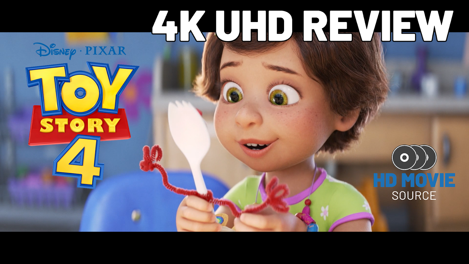 Toy Story 4 2019 4k Ultra Hd Blu Ray Review The Basics