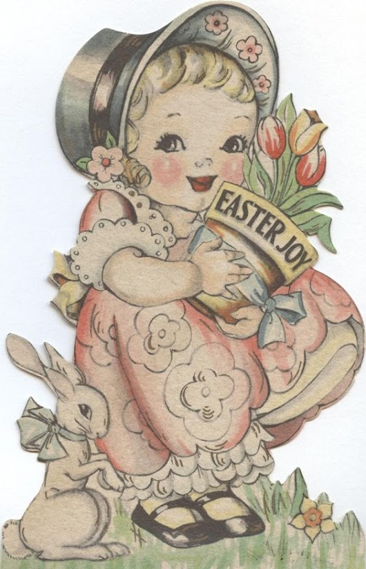 Antique Hallmark Cards for Easter