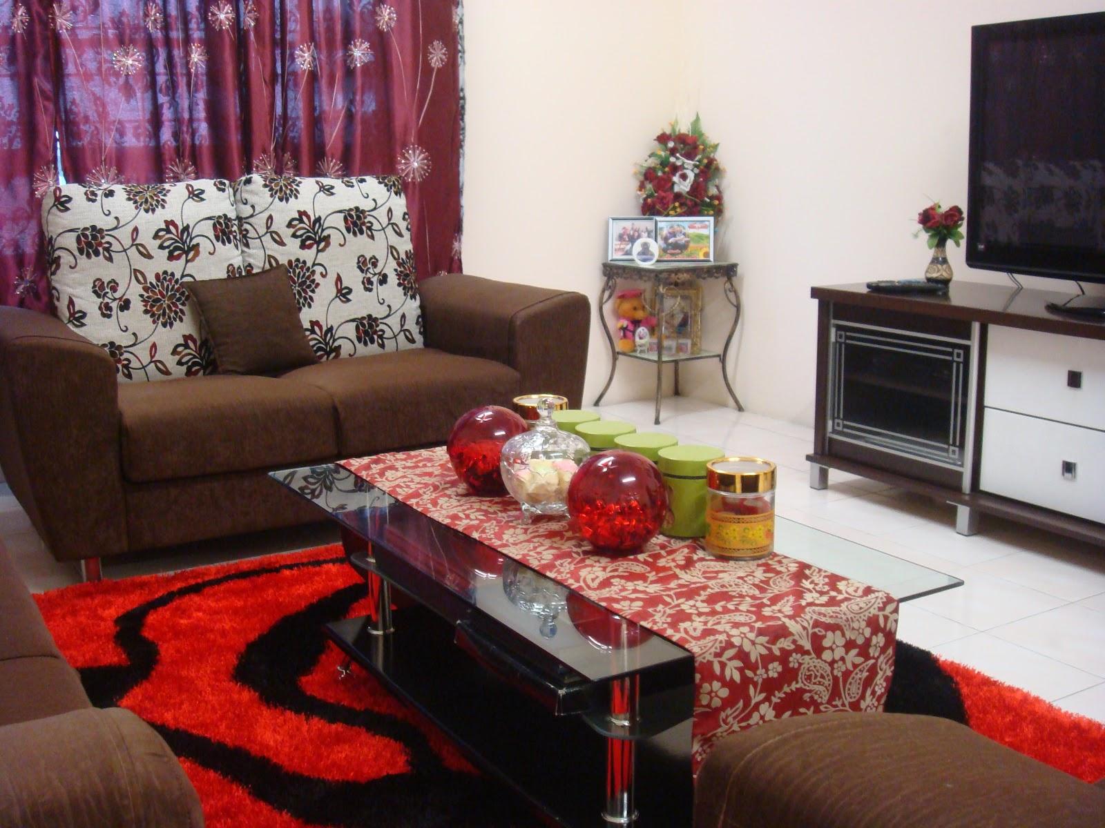 Desain Ruang Tamu Dengan Karpet