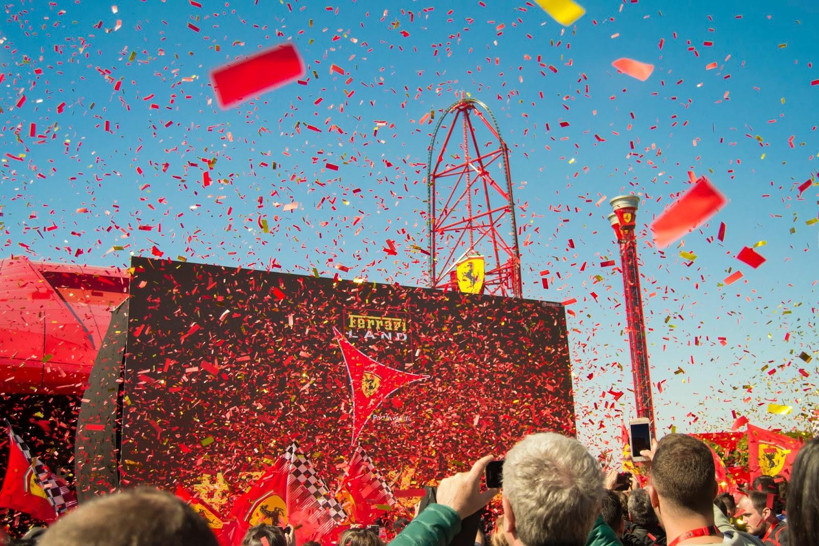 Inauguración FerrariLand 6 de abril