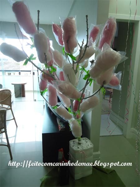 Árvore de algodão doce