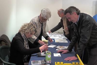 Matasellos de la Exposición filatélica en Ribadesella, Manos Curtidas