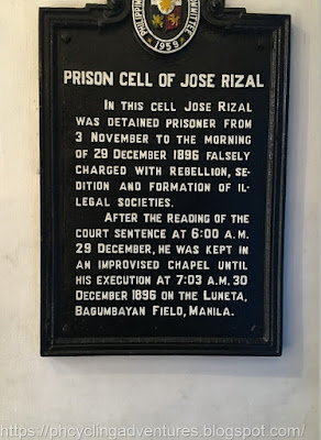 Prison Cell of Rizal